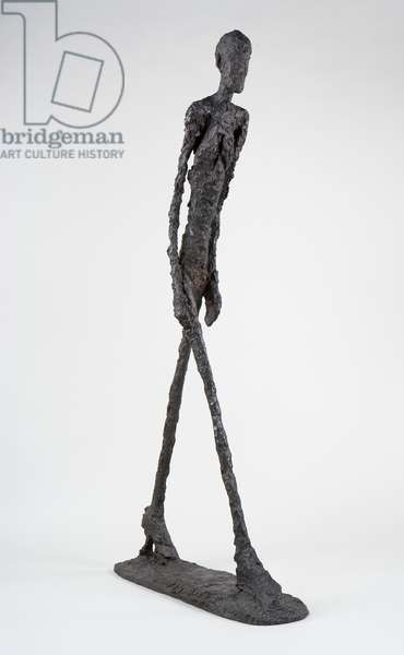 Walking Man I, 1960 (bronze)