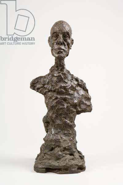 Bust of Diego, 1964 (bronze)