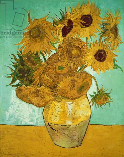 Sunflowers, 1888 (oil on canvas)