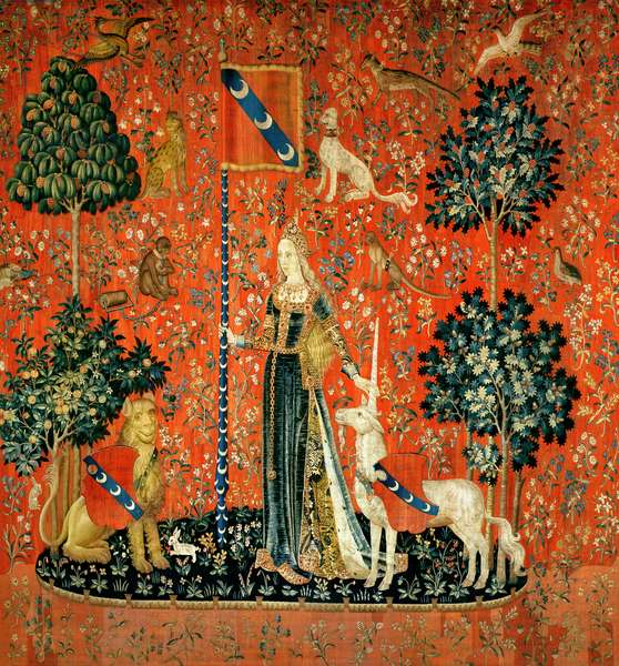 The Lady and the Unicorn: 'Touch' (tapestry)
