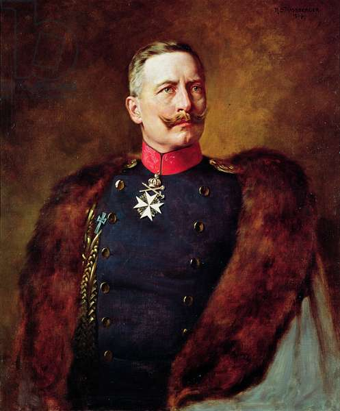 Portrait of Kaiser Wilhelm II (1859-1941)