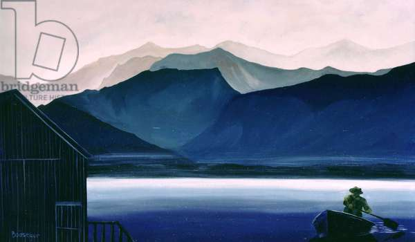 Northern Morning (oil on canvas)