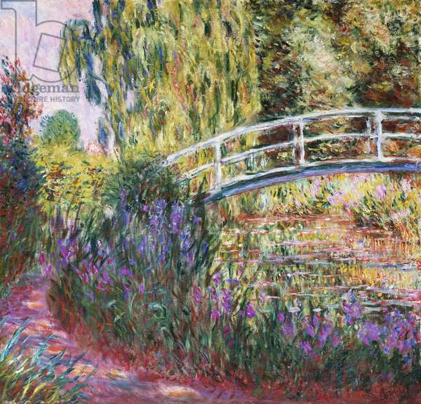 The Japanese Bridge, Pond with Water Lilies, 1900 (oil on canvas)