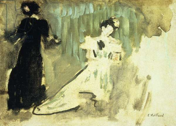 Two Women; Deux Femmes, c.1905 (oil on canvas)