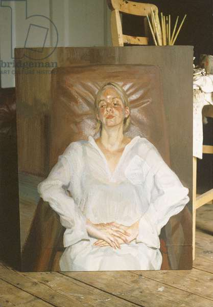 Louisa, 1998 (oil on canvas)