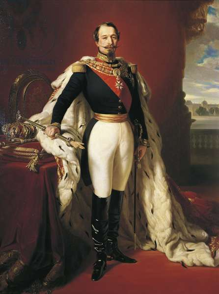 Portrait of Napoleon III (Louis Napoleon Bonaparte), c.1852 (oil on canvas)