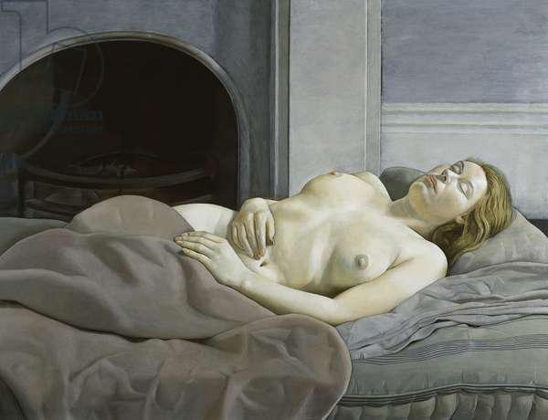 Sleeping Nude, 1950 (oil on canvas)