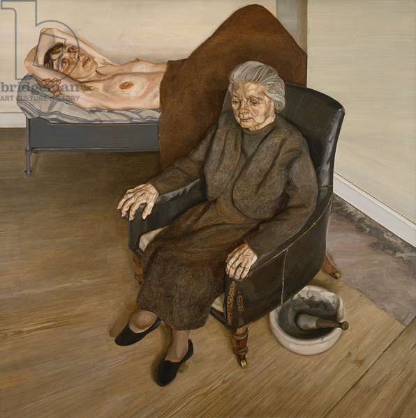 Large Interior, London W.9., 1973 (oil on canvas)
