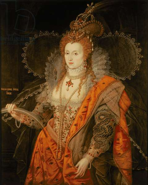 Queen Elizabeth I, 'The Rainbow Portrait', c.1600 (oil on panel)