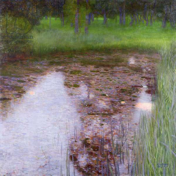 The Swamp, 1900 (oil on canvas)