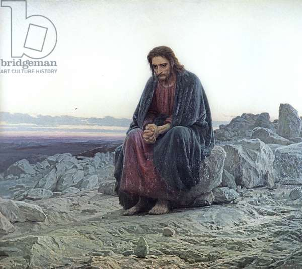 Christ in the Wilderness, 1873 (oil on canvas)