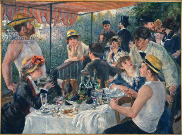 Luncheon of the Boating Party, 1880-81 (oil on canvas)