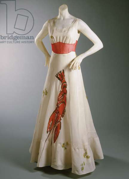 Woman's Dress, 1937 (silk organza & horsehair)