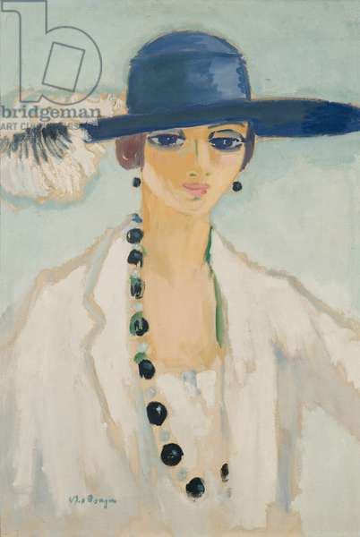 Lady with Beads, 1923 (oil on canvas)