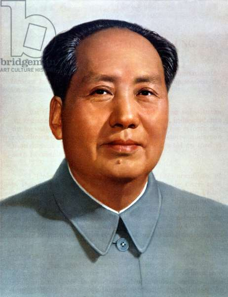 Mao Zedong (1893-1976) leader of chinese communist party president of Popular China 1949-1959 and 1968-1976, here c.1949