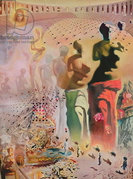 Hallucinogenic Toreador, 1968-70 (oil on canvas)