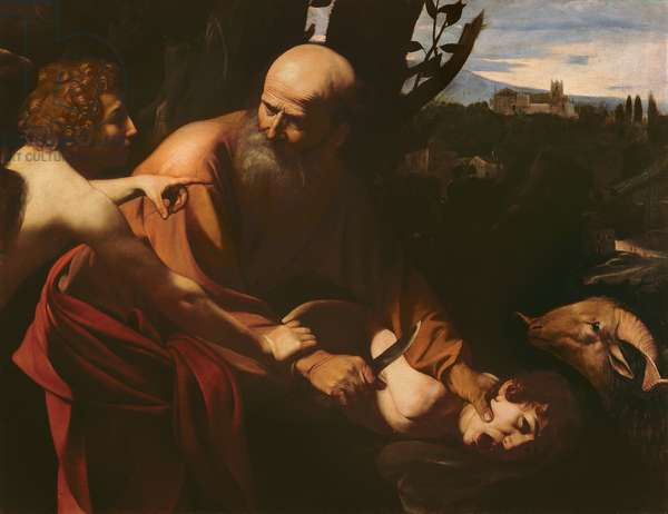 The Sacrifice of Isaac, 1603 (oil on canvas)