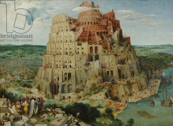 Tower of Babel, 1563 (oil on panel)