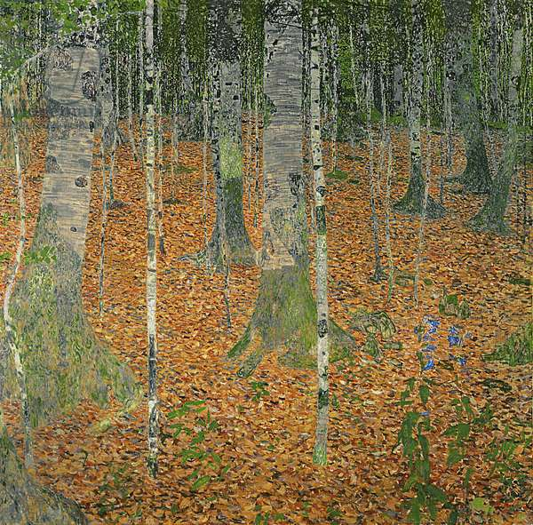 The Birch Wood, 1903 (oil on canvas)