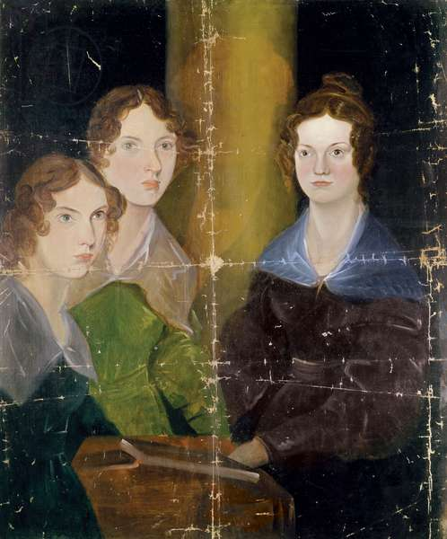 Portrait of the Bronte Sisters, c.1834 (oil on canvas)