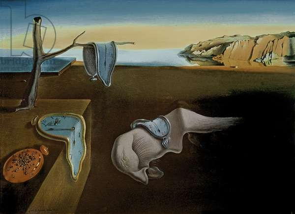The Persistence of Memory, 1931 (oil on canvas)