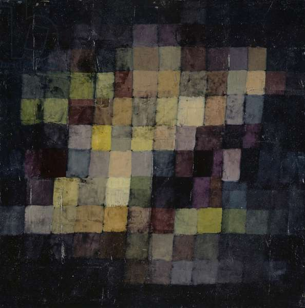Ancient Harmony, 1925 (no 236) (oil on cardboard)