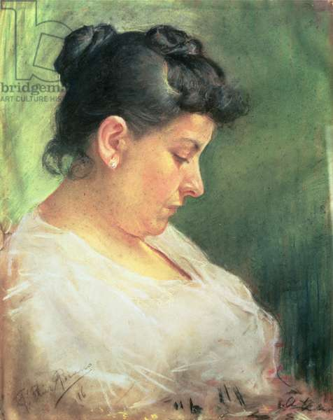 Maria Picasso Lopez, The Artist's Mother, 1896 (pastel on paper)