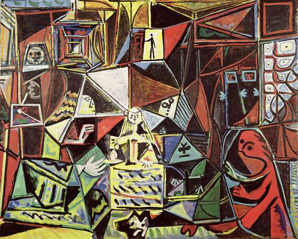 Las Meninas No.31, 1957 (oil on canvas)