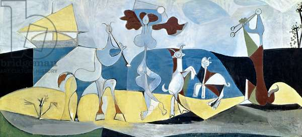 Joy of Life or, Antipolis, 1946 (oil on canvas)