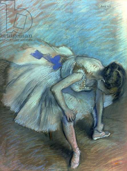 Seated Dancer, c.1881-83 (pastel on paper)