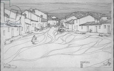 Fedroso, 1898 (Pencil on cartridge paper)