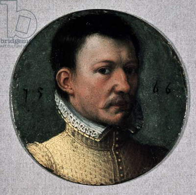 Portrait of James Hepburn, fourth Earl of Bothwell (ca 1534-1578), Prince Consort of Scotland, Miniature
