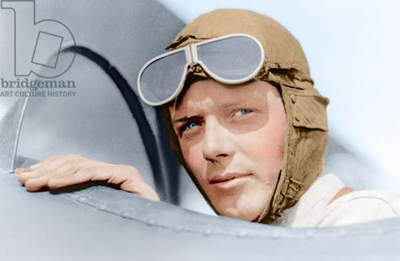 Charles A. Lindbergh in St. Louis, Missouri, USA 1923 (photo)