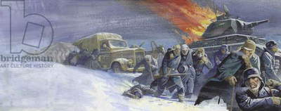German soldiers after the battle of Stalingrad