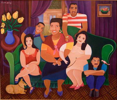 Family Portrait, 1998 (acrylic on canvas)