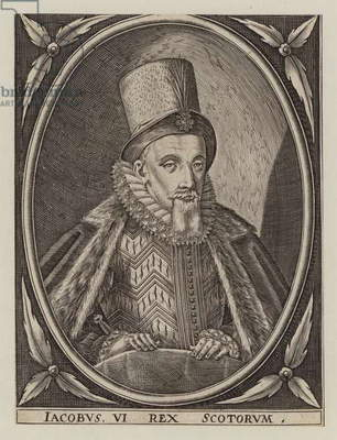 King James VI of Scotland (engraving)