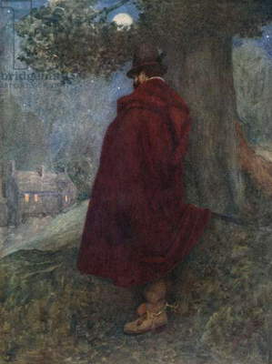 The Earl of Bothwell at Night Watching the Solitary House called Kirk-o-Field