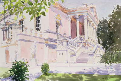 Chiswick House, 1994 (w/c on paper)