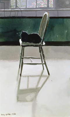 Cat on a Chair, 1986