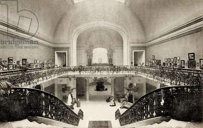 Grand Palais, Salon d'Automne, view of the galleries, 1905 (photo)