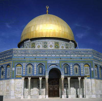 The Dome of the Rock, Temple Mount, built AD 692 (photo)