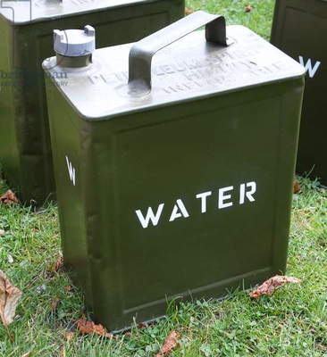 World War Two British army water can