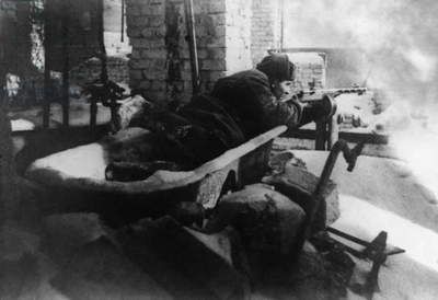 Battle Of Stalingrad During The Great Patriotic War