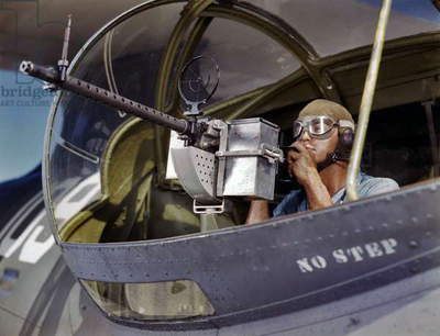 A World War Two African-American airman