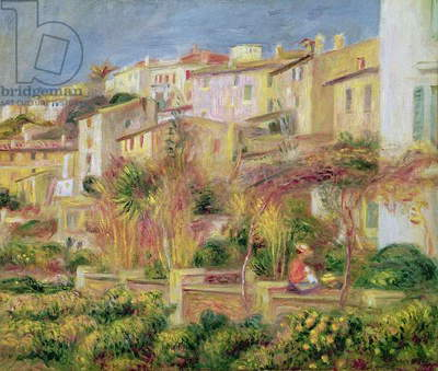 Terrace in Cagnes, 1905 (oil on canvas)