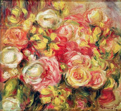 Roses, 1915 (oil on canvas)