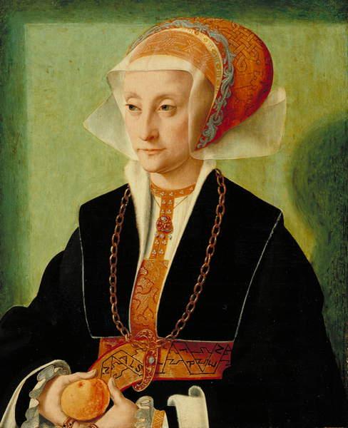 Image of a Portrait of a Lady, c.1539 (oil on panel), © Allen Memorial Art Museum / R.T. Miller, Jr. Fund / Bridgeman Images