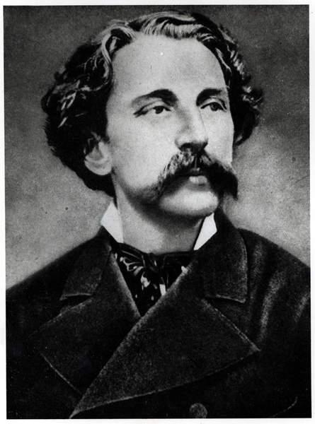 Image of Portrait of Stephane Mallarme (1842-98), c.1873 (b/w photo), French School, (19th century) / French, Bibliothèque Littéraire Jacques Doucet, Paris, France. © Archives Charmet / Bridgeman Images.