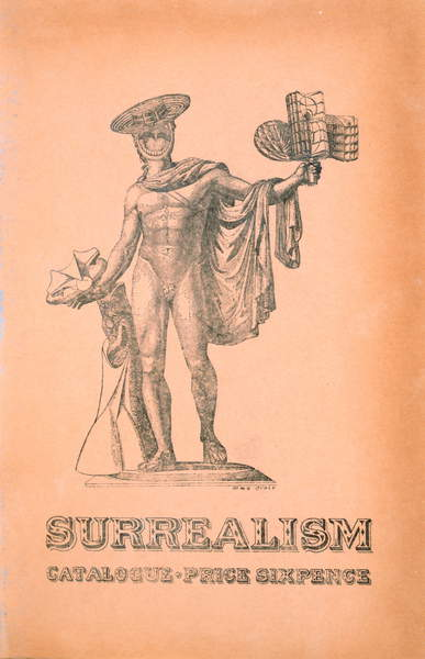 Image of the Cover for the Exhibition catalogue 'Surrealism' in London, 1936 (engraving)