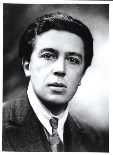 Image - Portrait of Andre Breton (1896-1966) 1930 (b/w photo), French Photographer, (20th century) / French, Bibliotheque Litteraire Jacques Doucet, Paris, France, leader of the Surrealist group;© Archives Charmet / Bridgeman Images